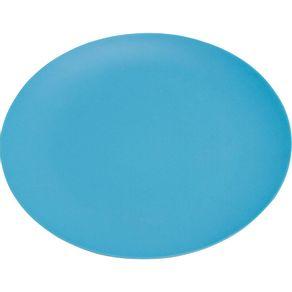 Prato-de-Melamina-Raso-26cm-Liso-Azul-Fosco-1569309