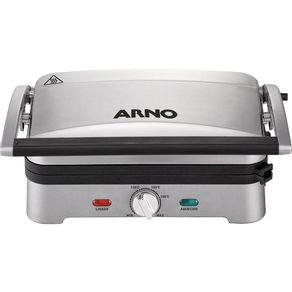 Grill-Arno-Premium-GPRE-com-Coletor-de-Gordura-e-Placas-Destacaveis-Prata-127V-1607987