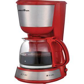 Cafeteira-Eletrica-18-Xicaras-Britania-Inox-Plus-BCF18IV-Vermelha-127V-1646745