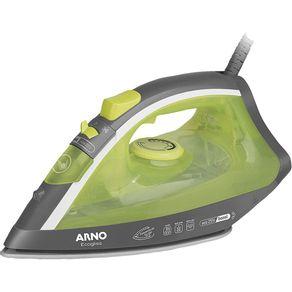 Ferro-a-Vapor-Vertical---Spray-Arno-Ecogliss-FEC1-Verde-e-Cinza-220V-1639366