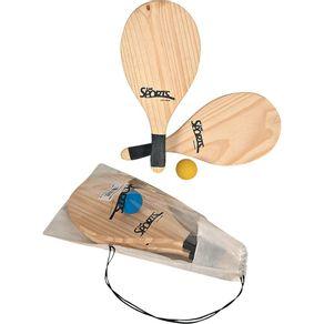 Kit-Frescobol-2-Raquetes-Bola-4810-Bel-Fix-1003410