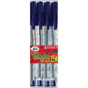 Caneta-1mm-Kit-Trigno-com-4-Unidades-Azul-1640798