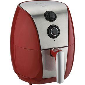 Fritadeira-Eletrica-3-2L-Britania-Air-Fry-BFR01VI-com-Timer-Vermelha-e-Prata-220V-1621432