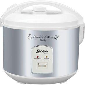 Panela-Eletrica-de-Arroz-Lenoxx-Prepara-Ate-5-Xicaras-Multifuncional-Pratic-PMA-175-Prata-220V-1657062