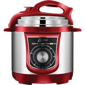 Panela-de-Pressao-Eletrica-Digital-3L-Lenoxx-Potencia700W-Multi-Red-PPP-163-Vermelha-127V-1656899