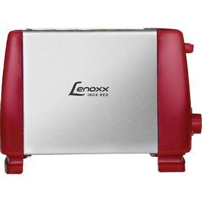 Torradeira-Eletrica-Lenoxx-com-6-Niveis-de-Temperatura-PTR203-Inox-Vermelho-127V-1657259