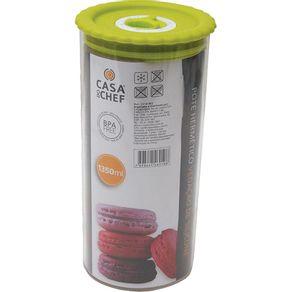 Pote-Hermetico-1350ml-Casa-do-Chef-Cilindrico-CV181862-com-Indicador-de-Data-1616471