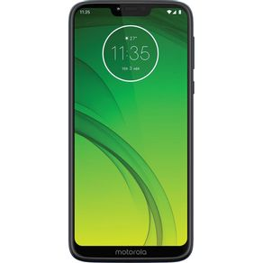 "Smartphone Motorola Moto G7 Power XT1955 64GB Dual Chip Tela 6.2"" 4G WiFi Câmera 12MP Azul"