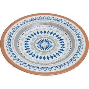 Prato-de-Melamina-Raso-28cm-CV191965-Geometrico-Azul-1638491