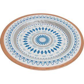 Prato-de-Melamina-Sobremesa-22cm-CV191966-Geometrico-Azul-1638505
