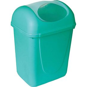 Lixeira-Basculante-11L-Sao-Bernardo-LX07-06-Verde-Tiffany-1661094