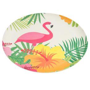 Prato-Fibra-de-Bambu-Raso-25cm-Anji-Flamingo-1559460