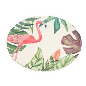 Prato-Sobremesa-Fibra-de-Bambu-20cm-Anji-Folhas-Flamingo-CV181805-1614665