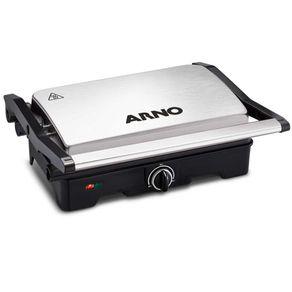 Grill-Eletrico-Arno-Dual-Inox-GNOX-com-Coletor-de-Gordura-220V-1654616c