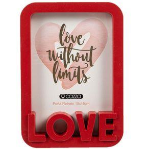 Porta-Retrato-Plastico-Love-10X15-CV192165-Cazza-Vermelho-1665359
