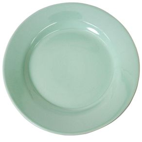 Prato-Ceramica-Raso-26cm-Standard-Verde-Scalla-1670000a
