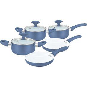 Conjunto-de-Panelas-Ceramica-com-Tampa-de-Vidro-Predileta-5-Pecas-Casa-do-Chef-Azul-1550543