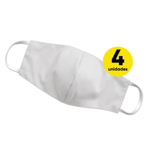 Kit-4-Mascaras-Doce-Vida-Branca