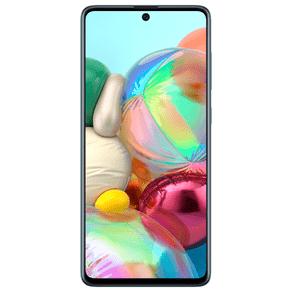 Smartphone-Samsung-Galaxy-A71-A715F-Dual-Chip-Tela-6.7--4G-WiFi-Camera-Quad-64MP-12MP-5MP-5MP-Azul