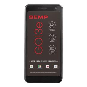 Smartphone-SEMP-Desbloqueado-Go-3E-Preto