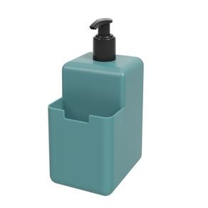 Dispenser-500ml-Coza-Single-17008-Azul-Baltico