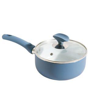 Panela-18cm-Ceramica-com-Tampa-de-Vidro-Casa-do-Chef-Azul-Marinho-1550535