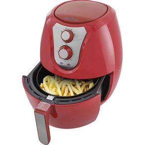 Fritadeira-Eletrica-Air-Fryer-Britania-Pro-Saude-BRF32V-3-2L-Vermelha-127V-1558188c