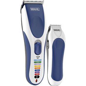Maquina-de-Cortar-Cabelo---Aparador-de-Pelos-Color-Pro-Cordless-Wahl-Azul-e-Prata-127V-1684248