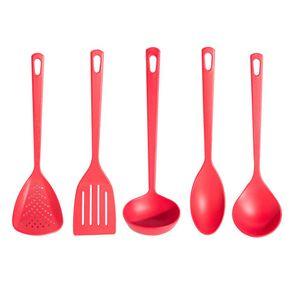 Conjunto-5-Pecas-Utensilios-Nylon-Tramontina-Vermelho-1284550