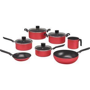 Conjunto-de-Panelas-Antiaderente-7-Pecas-Brinox-Garlic-7001-441-Vermelho-1678400