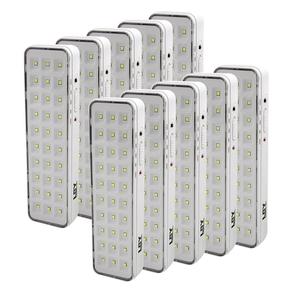 Kit-Luminaria-de-Emergencia-30-Leds-Imporiente-YSEL44Y-10-Pecas-Bivolt