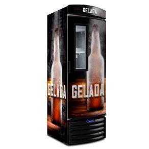Geladeira/refrigerador 387 Litros 1 Portas Adesivado - Metalfrio - 220v - Vn44fl
