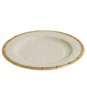 Prato-de-Melamina-Raso-28cm-Bambu-Off-White-1638653