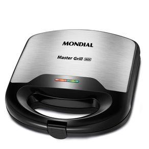 Sanduicheira-Grill-Mondial-S20-Preto-e-Inox-127V-1693530