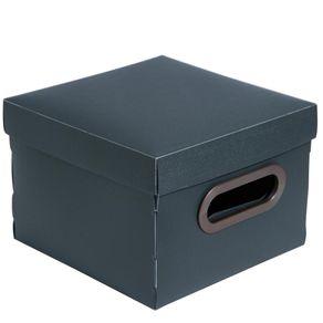 Caixa-Organizadora-PP-Quadrado-2203G2-Linho-Dello-Chumbo-1690060a