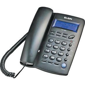 Telefone-com-Identificador-Viva-Voz-Bloqueador-Elgin-TCF3000-Preto-0961574b