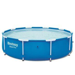Piscina-Estruturada-4-678L-Steel-Pro-Frame-Pool-3-05m-x-76cm-56406-Bestway-1421972d