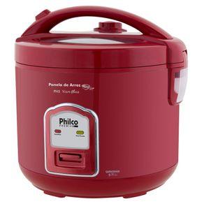 Panela-Eletrica-de-Arroz-com-Capacidade-5-Xicaras-Philco-Visor-Glass-PH5-Vermelho-127V-1699202