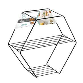 Nicho-Hexagonal-37x37-Aramado-Arthi-Black-1692313