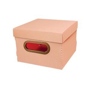 Caixa-Organizadora-PP-Quadrado-2203W-Linho-Dello-Rosa-1689924