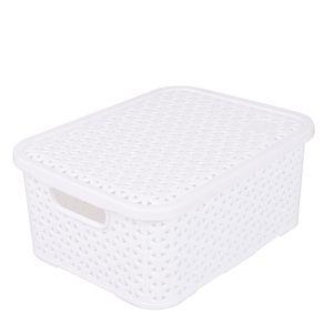 Caixa-Organizadora-4L-com-Tampa-Arthi-Mosaico-5030-Branca-1691112