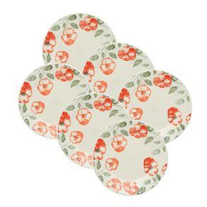 Kit-6-Pratos-de-Ceramica-Sobremesa-19cm-Oxford-Holambra
