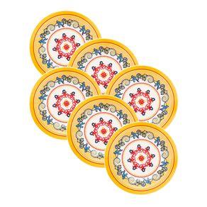 Kit-6-Pratos-de-Ceramica-Fundo-23cm-Oxford-La-Pollera