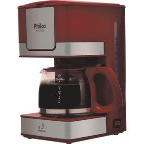Cafeteira-Eletrica-15-Xicaras-Philco-Inox-PH16-Vermelha-127V-1452401