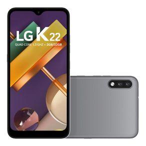 Smartephone-LG-K22-LMK200BMW-32GB-Dual-Chip-Tela-6-2--4G-WiFi-Camera-Dual-13MP-2MP-Cinza-1689789