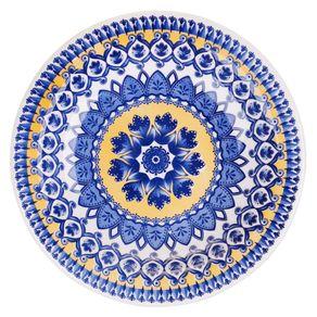Prato-de-Ceramica-Fundo-23cm-Floreal-Oxford-La-Carreta-1508717