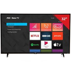 Smart-TV-LED-32--AOC-RokuTv-32S5195-HD-3-HDMI-1-USB-Preto