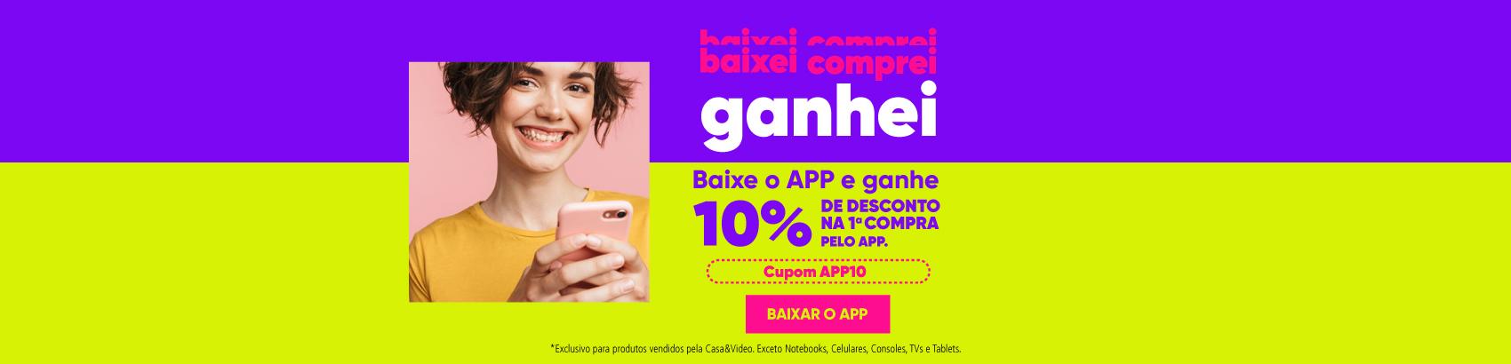 App 10% desconto