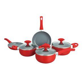 Conjunto-de-Panelas-Ceramica-5-Pecas-Casa-do-Chef-Predileta-com-Tampa-de-Vidro-Vermelho