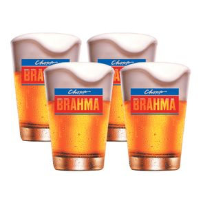 Kit-4-Copos-de-Cerveja-350ml-Caldereta-Crisa-Brahma